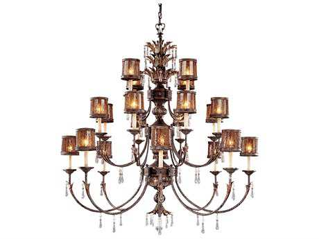 Metropolitan Lighting Sanguesa Patina 22-Lights 58'' Wide Grand Chandelier METN6069194