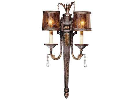 Metropolitan Lighting Sanguesa Patina Two-Lights Wall Sconce METN6082194
