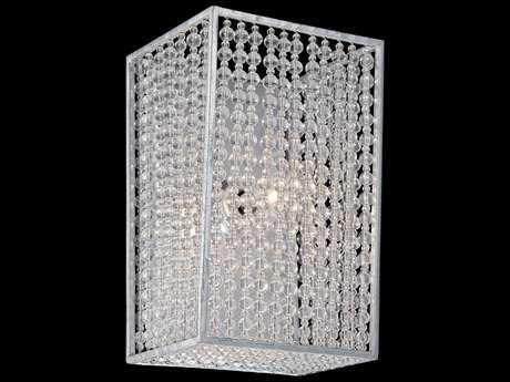 Metropolitan Lighting Saybrook Catalina Silver with Glass Beads Vanity Light METN2731598
