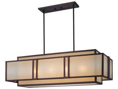 Metropolitan Lighting Underscore Cimarron Bronze Four-Lights 40'' Long Island Light METN6959267B