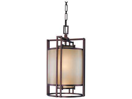 Metropolitan Lighting Underscore Cimarron Bronze Three-Lights 15'' Wide Pendant Light METN6954267B