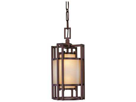 Metropolitan Lighting Underscore Cimarron Bronze Two-Lights 10'' Wide Pendant Light METN6955267B