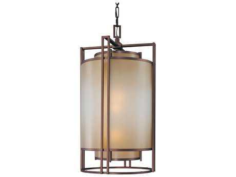 Metropolitan Lighting Underscore Cimarron Bronze Three-Lights 20'' Wide Pendant Light METN6956267B