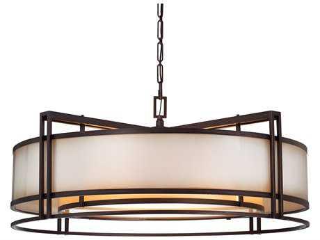 Metropolitan Lighting Underscore Cimarron Bronze Five-Lights 36'' Wide Pendant Light METN6967267B