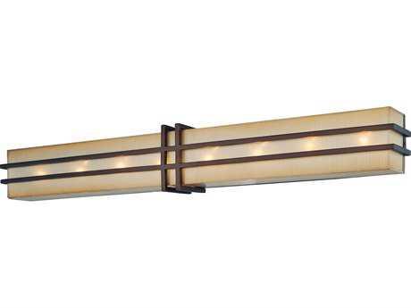 Metropolitan Lighting Underscore Cimarron Bronze Eight-Lights Vanity Light METN2958267B