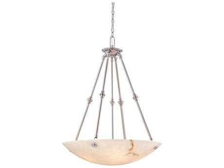 Metropolitan Lighting Virtuoso II Pewter Five-Lights 27'' Wide Pendant Light METN3705PW