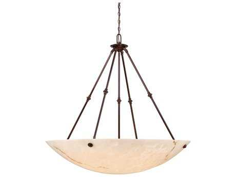 Metropolitan Lighting Virtuoso II Bronze Patina Eight-Lights 43'' Wide Pendant Light METN3708BP