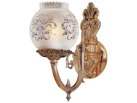 Metropolitan Lighting Antique Classic Brass Wall Sconce METN801901