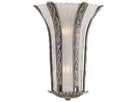 Metropolitan Lighting Platinum Two-Lights Wall Sconce METN95033454B