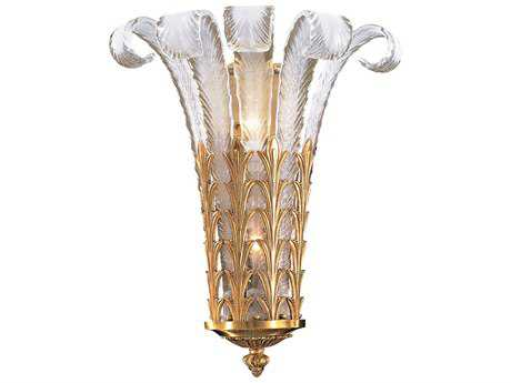 Metropolitan Lighting French Gold Two-Lights Wall Sconce METN950386