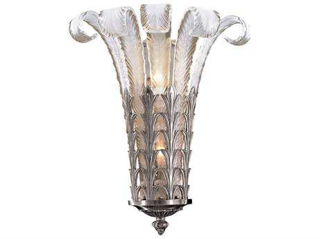 Metropolitan Lighting Platinum Two-Lights Wall Sconce METN95038654B