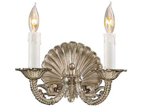 Metropolitan Lighting Polished Chrome Two-Lights Wall Sconce METN9805PC