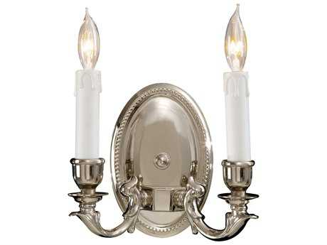 Metropolitan Lighting Polished Chrome Two-Lights Wall Sconce METN9809PC