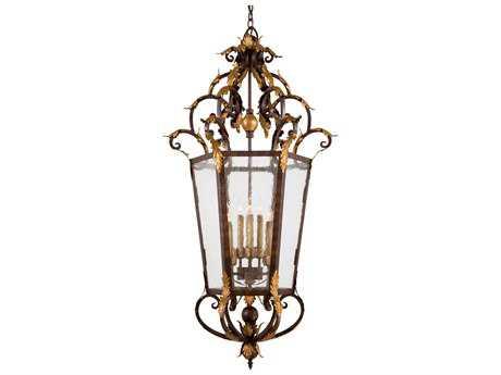 Metropolitan Lighting Zaragoza Golden Bronze Eight-Lights 26'' Wide Pendant Light METN3639355