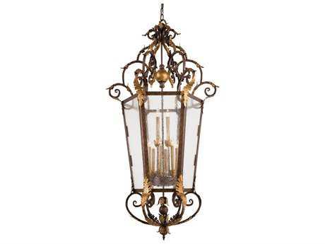 Metropolitan Lighting Zaragoza Golden Bronze 12-Lights 34'' Wide Pendant Light METN3642355