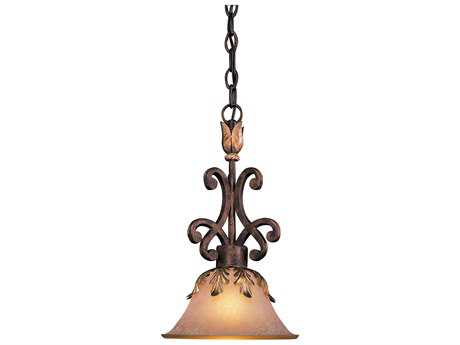 Metropolitan Lighting Zaragoza Golden Bronze 10'' Wide Pendant Light METN6240355