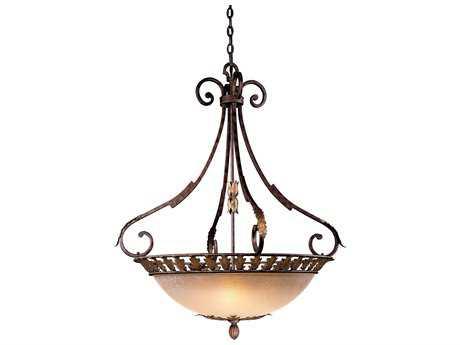 Metropolitan Lighting Zaragoza Golden Bronze Five-Lights 34'' Wide Pendant Light METN6242355