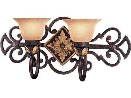 Metropolitan Lighting Zaragoza Golden Bronze Two-Lights Vanity Light METN2232355