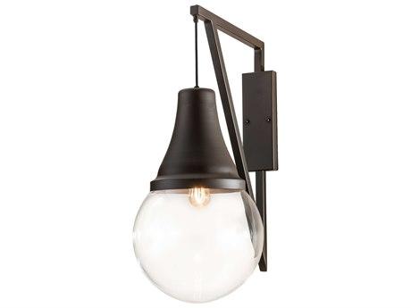 Meyda Aideen Oil Rubbed Bronze 1-light Glass LED Vanity Light MY211155