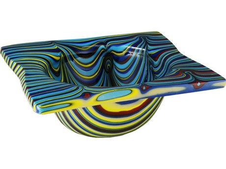 Meyda Tiffany Metro Fusion Tropical Glass Bowl MY113016
