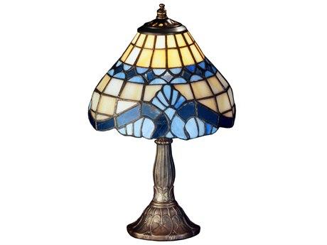 Meyda Tiffany Baroque Multi-Color Mini Lamp MY26586