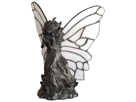 Meyda Tiffany Pearl Winged Fairy Multi-Color Accent Table Lamp MY50428