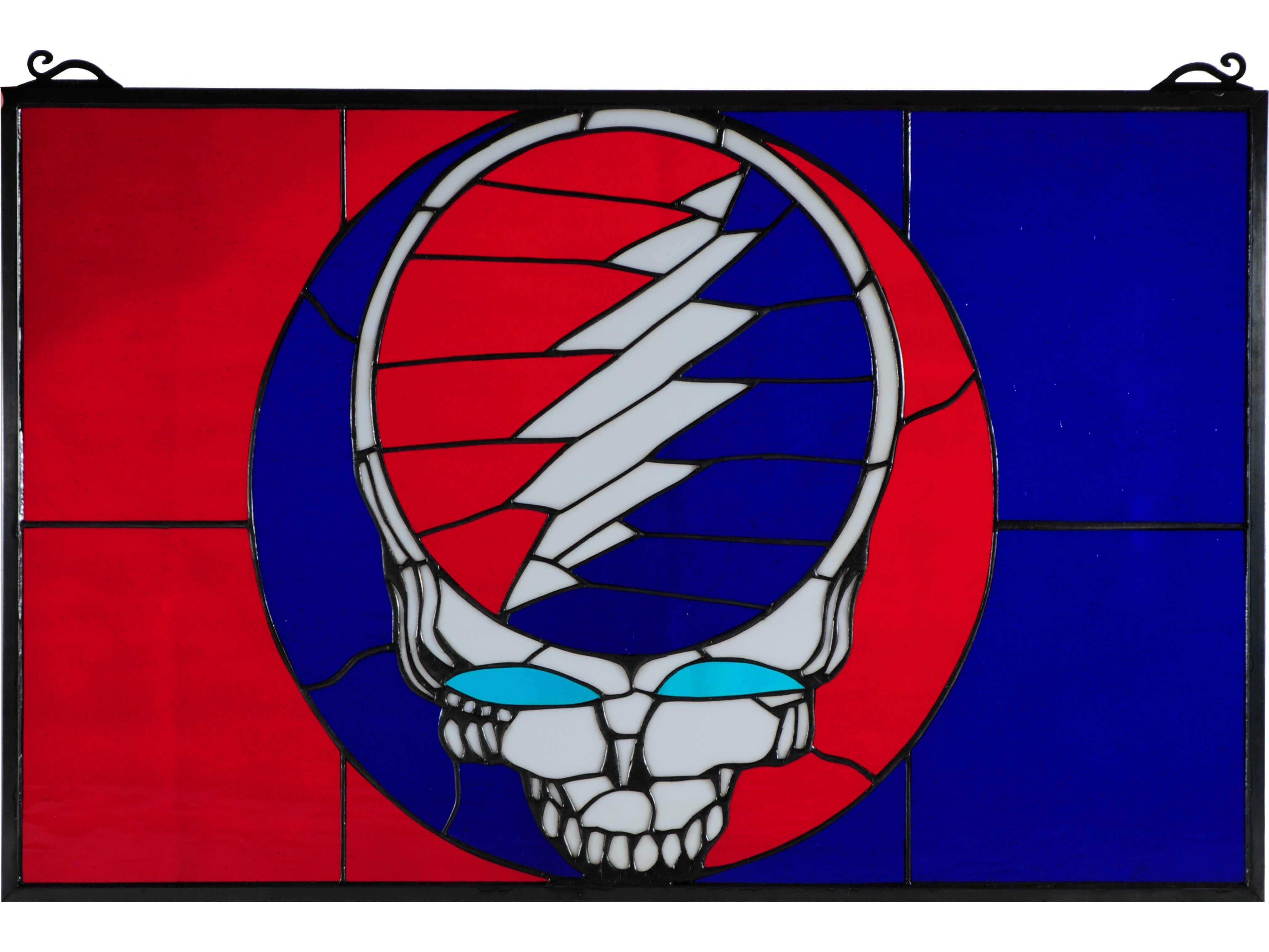 Grateful Dead Stained Gl Window