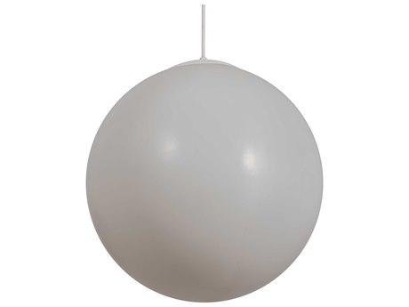 Meyda Bola White 3-light 18'' Wide LED Pendant MY222630