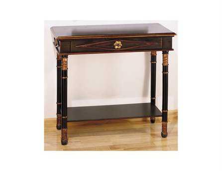 Meyda Tiffany 35 x 15 Rectangular Brown Empire Table