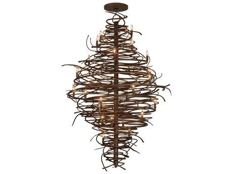 Meyda Tiffany Cyclone 28-Light 56'' Wide Chandelier MY115340