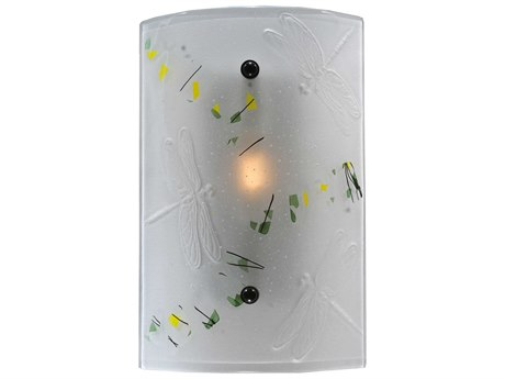 Meyda Tiffany Metro Fusion Bel Volo Glass Wall Sconce