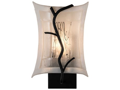 Meyda Tiffany Metro Fusion Twigs Glass Wall Sconce