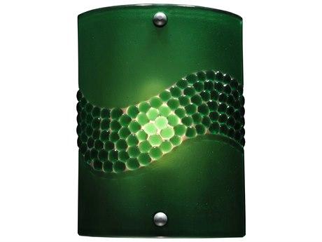 Meyda Tiffany Metro Fusion Green Pietre Wall Sconce