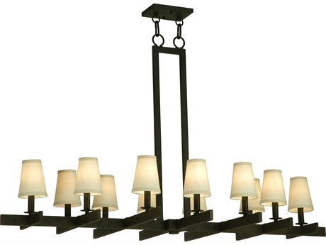 Meyda Tiffany Dante 12-Light 54'' Wide Island Light