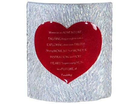 Meyda Tiffany Metro Fusion Heart Personalized Panel MY114106