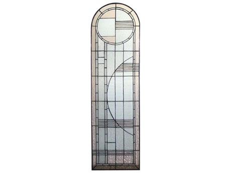 Meyda Tiffany Arc Deco Left Sided Stained Glass Window