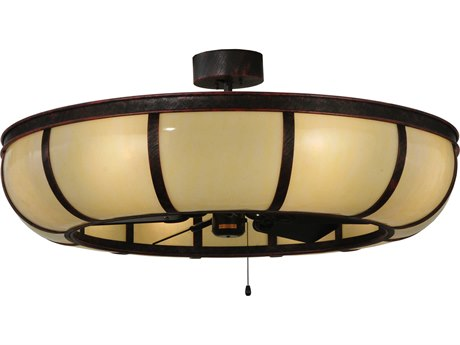 Meyda Tiffany Prime Dome Eight-Light Chandel-Air