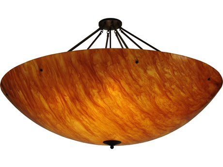 Meyda Tiffany Madison 12-Light Semi-Flush Mount Light