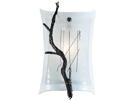 Meyda Tiffany Metro Fusion Twigs Glass Wall Sconce