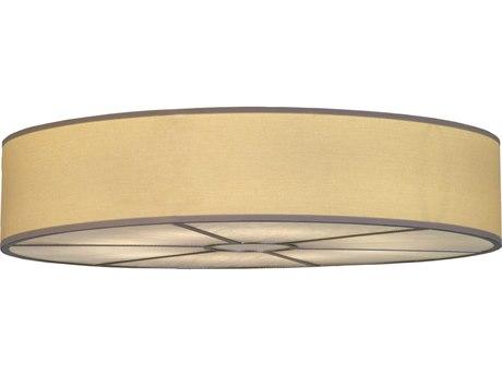 Meyda Tiffany Cilindro Fabric Eight-Light Flush Mount Light MY143637