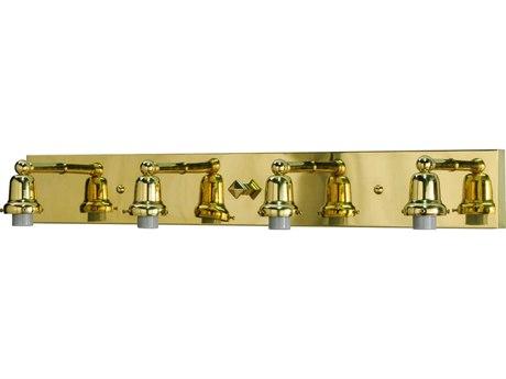 Meyda Tiffany Oyster Bay Vanity Hardware