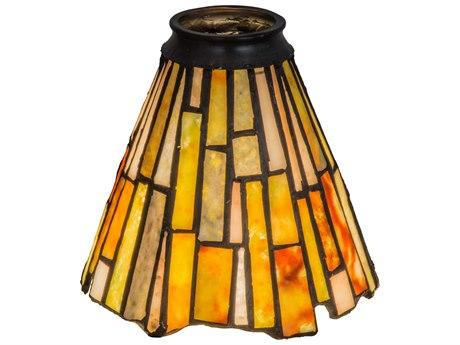 Meyda Tiffany Jadestone Delta Fan Light Shade MY65093