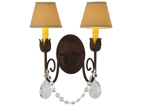 Meyda Tiffany Created By 0311 Two-Light Wall Sconce