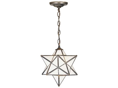 Meyda Tiffany Moravian Star White Pendant MY21841