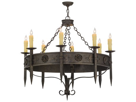 Meyda Tiffany Calandra Eight-Light 42 Wide Grand Chandelier MY115641