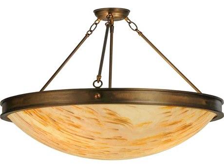 Meyda Tiffany Dionne Three-Light Semi-Flush Mount Light MY148961