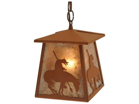 Meyda Tiffany Trails End  Hanging Outdoor Light