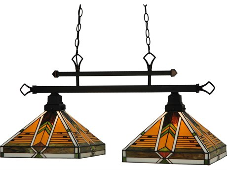 Meyda Tiffany Abilene Two-Light Island Light MY130752