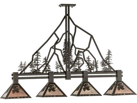 Meyda Tiffany Tall Pines Four-Light Island Light MY143959