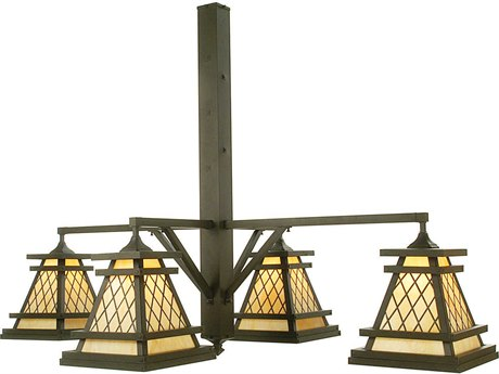 Meyda Tiffany Wilson Four-Light 65 Wide Grand Chandelier